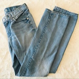 7 for all mankind girls jeans size 10